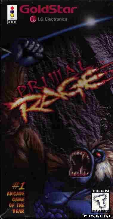 (3DO) Primal Rage (ENG/USA)
