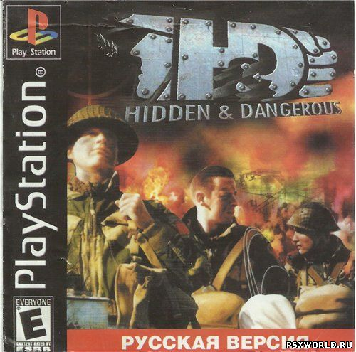 (PS) Hidden & Dangerous (RUS/PAL)