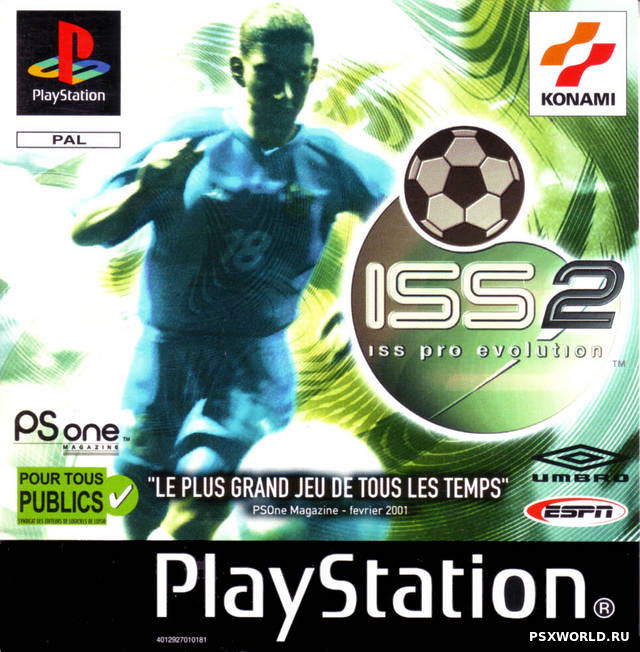 (PS) ISS Pro Evolution 2 (ENG/PAL)