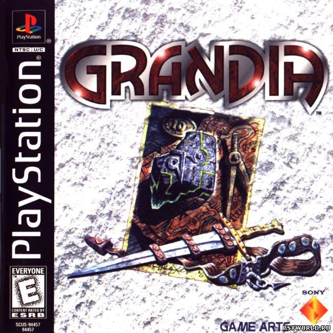 (PS) Grandia (2CD) (UNDUB/NTSC)