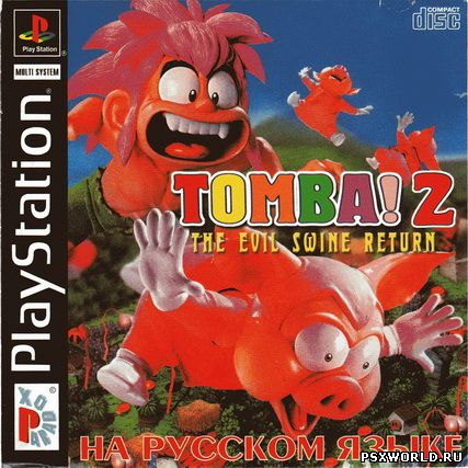 (PS) Tomba! 2: The Evil Swine Return (RUS-PARADOX/NTSC)