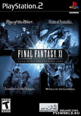 (PS2) Final Fantasy XI Online - Vana'diel Collection 2008 (ENG/NTSC)