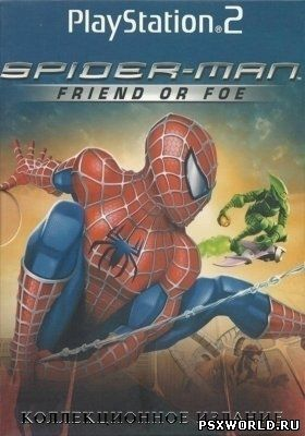 (PS2) Spider-Man: Friend or Foe (RUS- GameBox/ENG/NTSC)