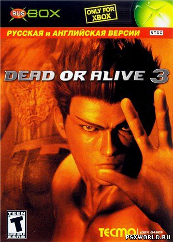 (XBOX) Dead or Alive 3 (RUS-BOX/ENG/MIX)